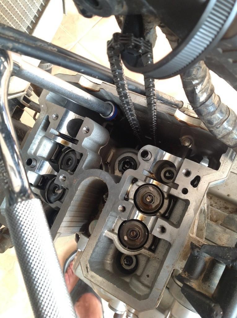 20140424-103938.jpg /Installing a Kawasaki KLX 330cc Kustom Kraft Big Borel a DIY guide./Technical/  - Image by: