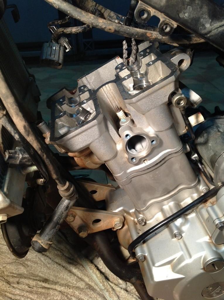 20140424-222603.jpg /Installing a Kawasaki KLX 330cc Kustom Kraft Big Borel a DIY guide./Technical/  - Image by: