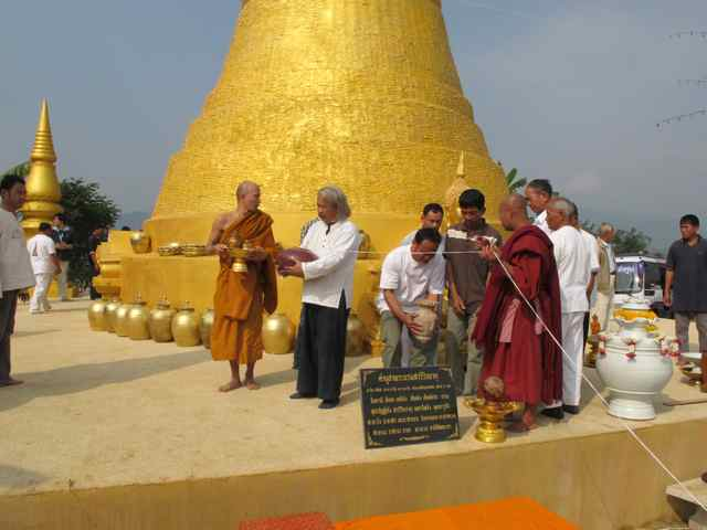 266462=1992-IMG_3454.jpg /Thailand's first bamboo chedi - a new place of interest on the Chiang Rai leg./Touring Northern Thailand - Trip Reports Forum/  - Image by: