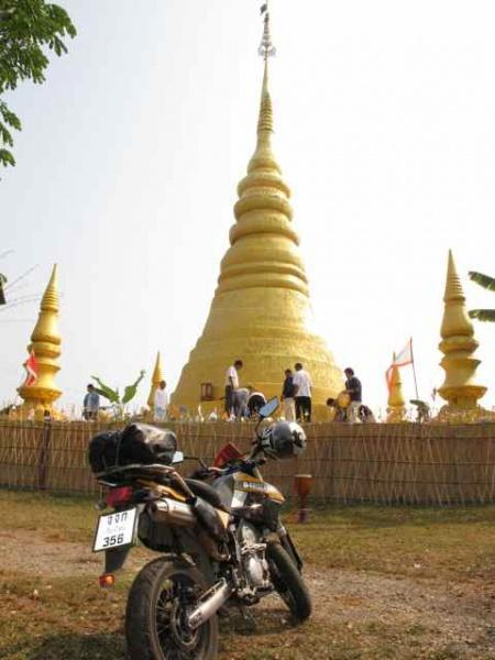 266462=1995-IMG_3464.jpg /Thailand's first bamboo chedi - a new place of interest on the Chiang Rai leg./Touring Northern Thailand - Trip Reports Forum/  - Image by: