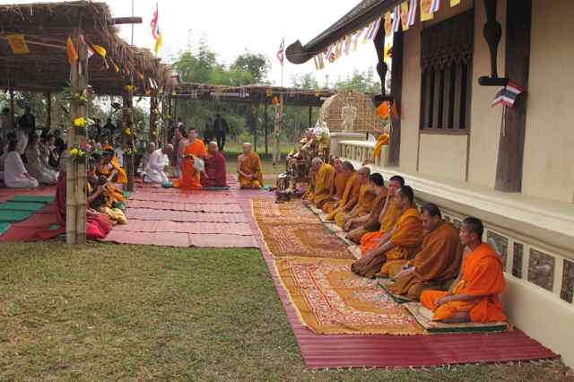266462=1996-IMG_3420.jpg /Thailand's first bamboo chedi - a new place of interest on the Chiang Rai leg./Touring Northern Thailand - Trip Reports Forum/  - Image by:
