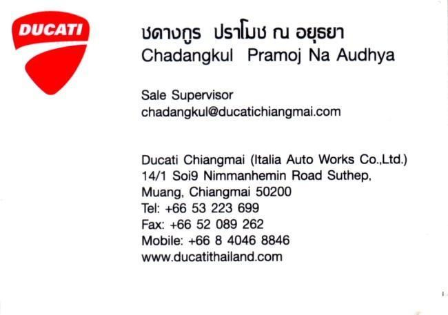 291522=16257-Chaddy-Ducati-Cnx.jpg /Ducati Chiang Mai/Ducati Motorcycles in Thailand/  - Image by: