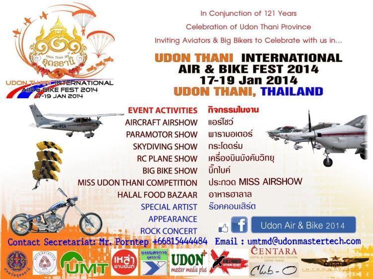 295343=17917-UdonAir&BikeShow.jpg /Udon Thani Air  Bike Festival/Festivals &  Events - S.E. Asia/  - Image by: