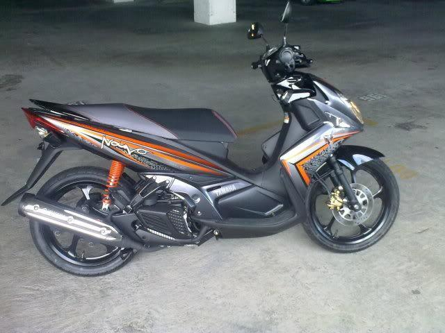 30082010128.jpg /Yamaha Nouvo Elegance 135cc Brand New 70KM/Motorcycle Buy & Sell - S.E. Asia/  - Image by: