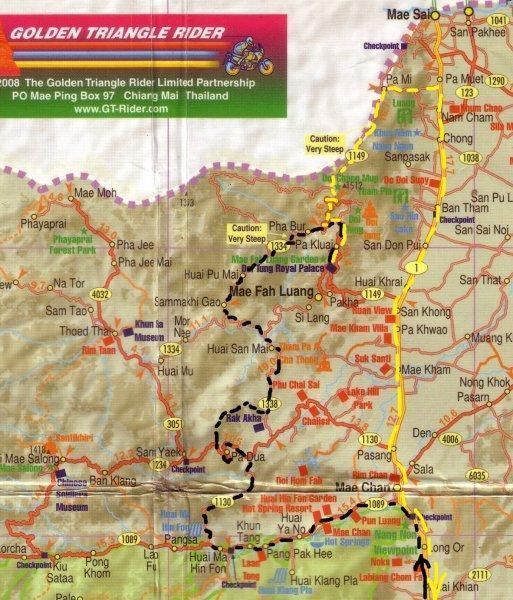 Back roads Doi Tung route.