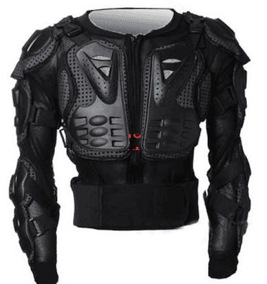 body armor.