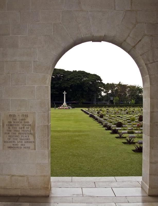 Cemetery3LR.jpg /ANZAC Day 2008/Central  Thailand Road  Trip Reports/  - Image by: