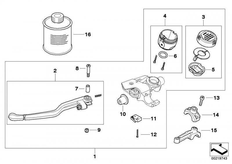 Clutch Clutch Control Parts.