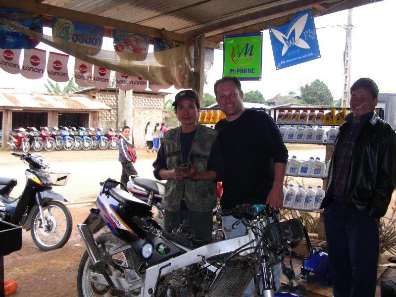 Thailand-laos-vietnam-cambodia-thailand On A Used Bike Bought In