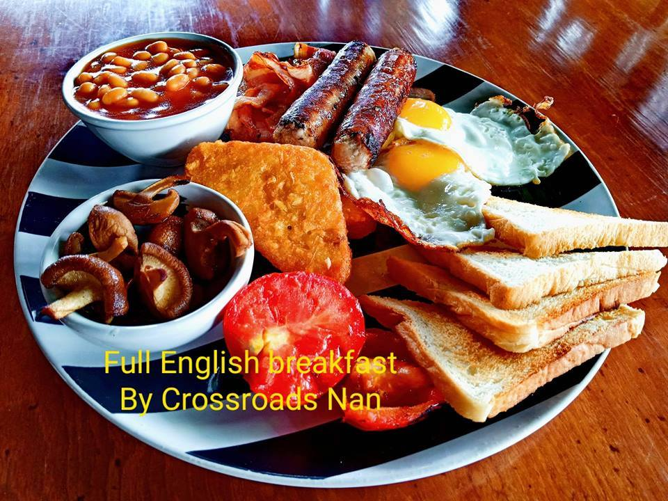Crossroads full english bf.