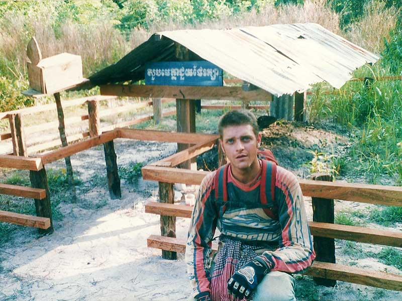 dirt-bike-tours-cambodia-pol-pot-grave.