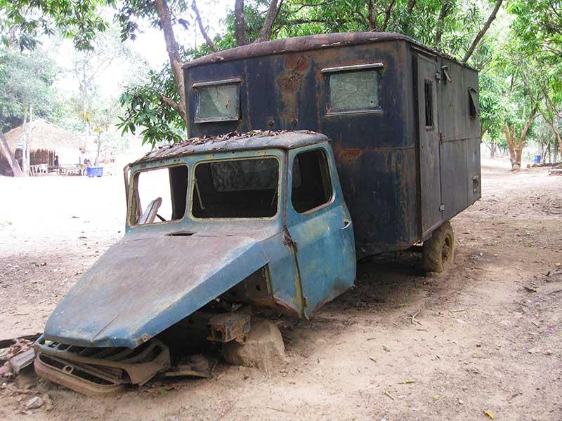 dirt-bike-tours-cambodia-propaganda-truck.