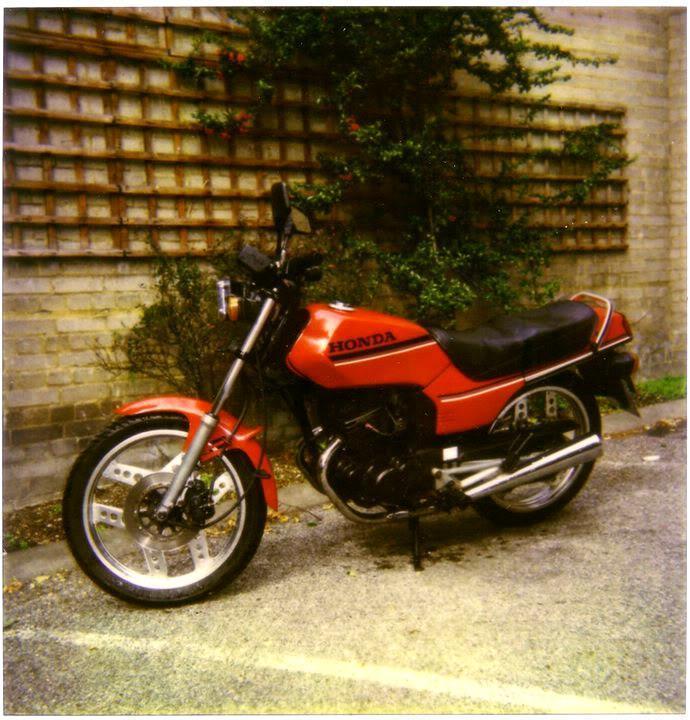 Honda125CBT.