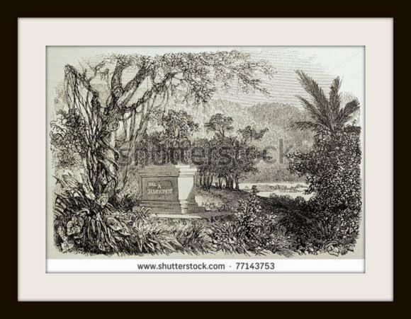 illustration-shows-the-tomb-of-the-french-naturalist-and-explorer-henry-mouhot-in-luang-77143753.