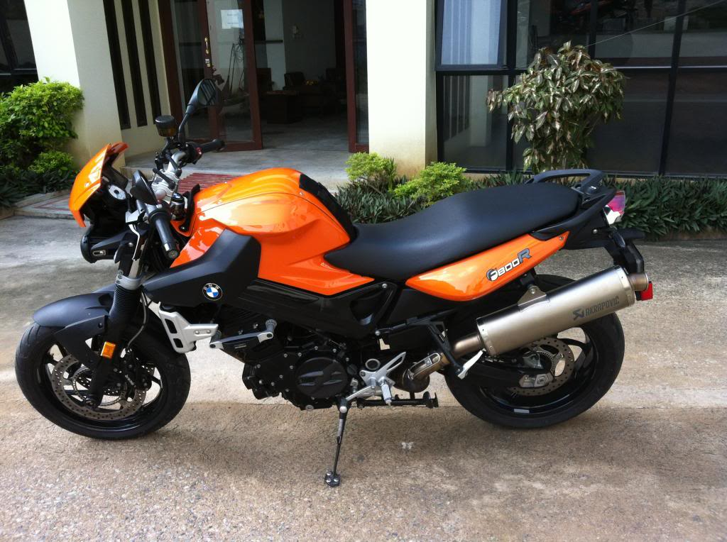For Sale 2010 BMW F800R Low Milege With Green Book