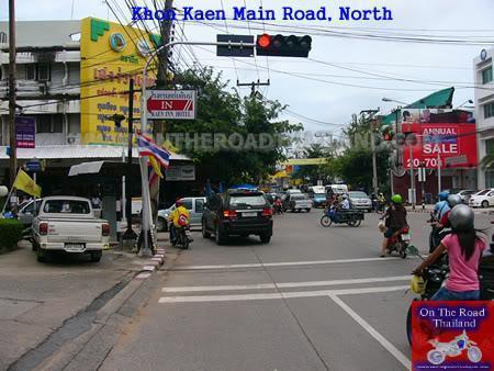 KhonKaenMainRoad.
