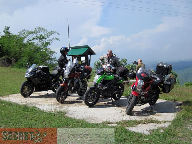 May2ndBikes1SSR.jpg /SSR Hooligans invade the Golden Triangle!/Festivals &  Events - S.E. Asia/  - Image by: