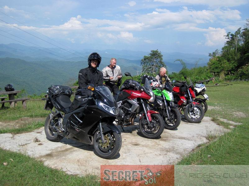 May2ndBikesSSR.jpg /SSR Hooligans invade the Golden Triangle!/Festivals &  Events - S.E. Asia/  - Image by: