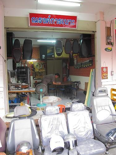 narong-karn-boh-seat-upholsterer-006.jpg /Chiang Mai Handy Motorcycle Related Shops/Northern Thailand - General Discussion Forum/  - Image by:
