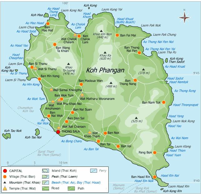 Phangan_Map.