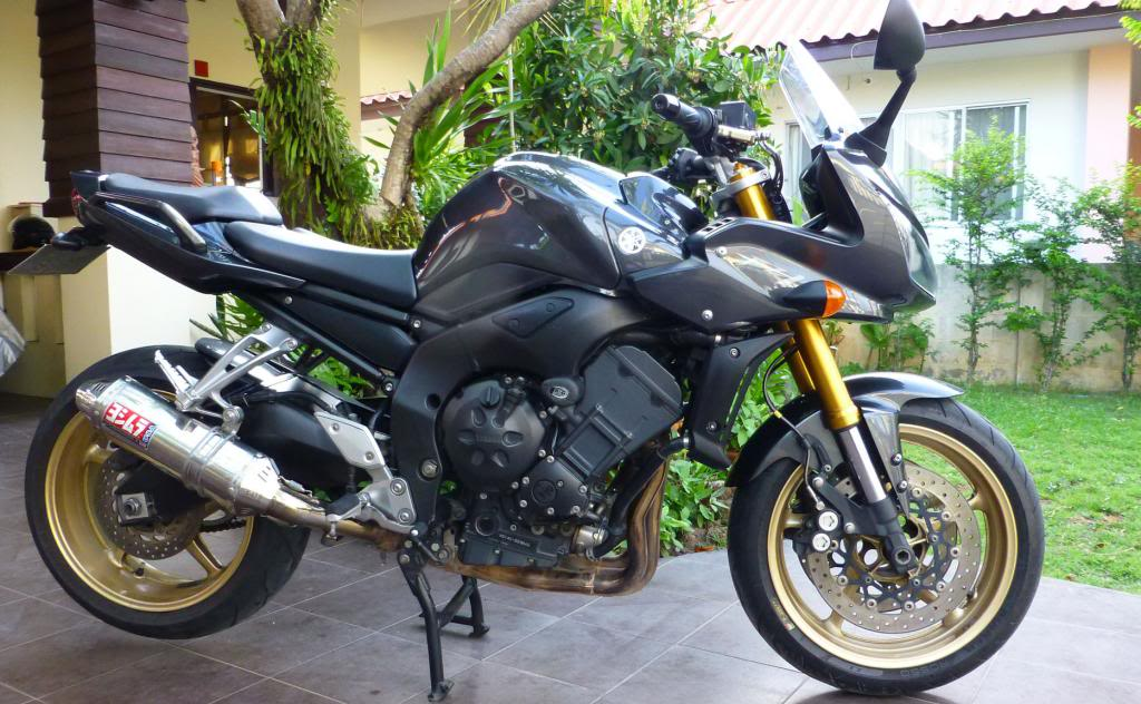 RHS.jpg /SOLD Yamaha FZ1 2008. Excellent condition/Motorcycle Buy & Sell - S.E. Asia/  - Image by: