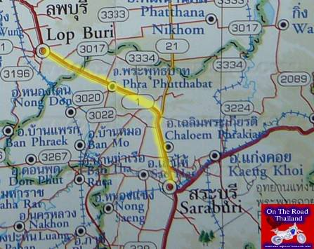 RouteMap-LopburitoSaraburi.