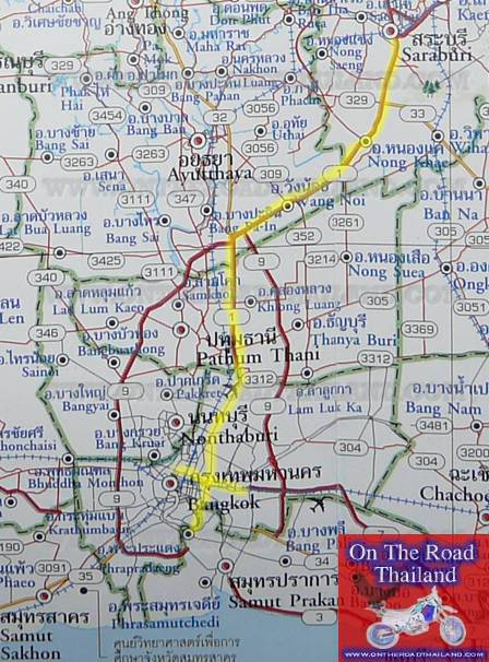 RouteMap-SaraburitoBangkok.