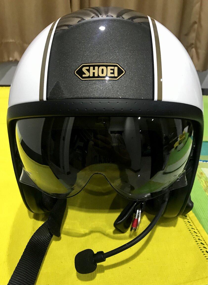 Shoei JO front view.