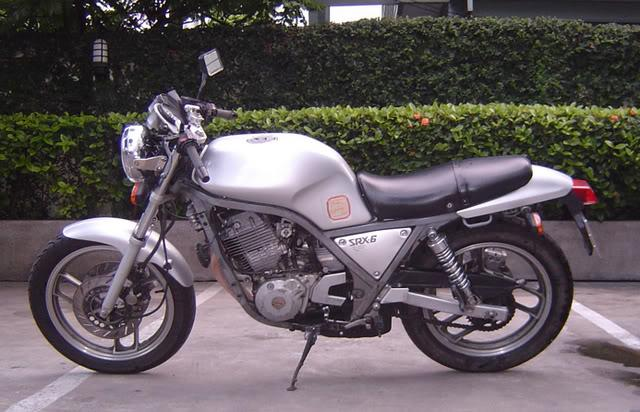 SRX6leftsideforsale.jpg /Classic Revival For Sale: Yam SRX6/Motorcycle Buy & Sell - S.E. Asia/  - Image by: