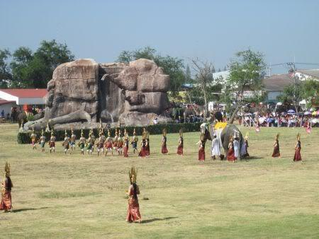 Stadium--left.jpg /Surin...The Elephant Festival pix/N.E. Thailand Motorcycle Trip Report Forums/  - Image by:
