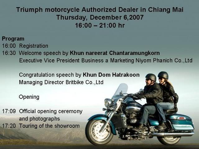 TriumphmotorcycleAuthorizedDealerin.