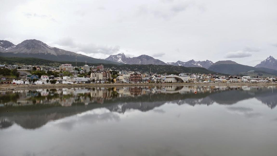 Ushuaia-See-Seite.